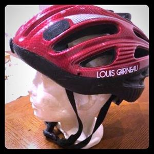 Other - Bicycle red helmet LOUIS GARNEAU (good condition)